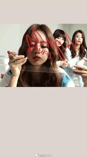 GirlsDay Hyeri ライブ•壁紙 1
