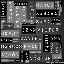 Nombres de clase