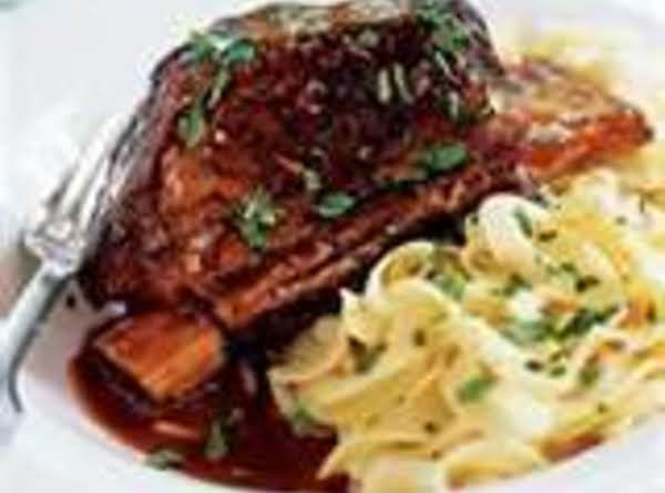 Creamy Gravy Beer Braised Country Ribs By Freda Recipe