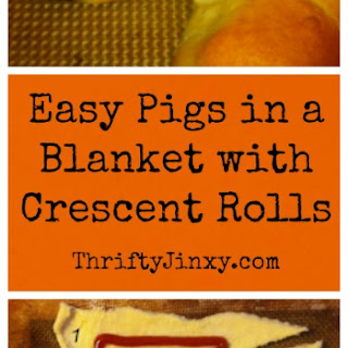 Easy Pigs in a Blanket Recipe (Using Crescent Rolls or Homemade Biscuit Dough).