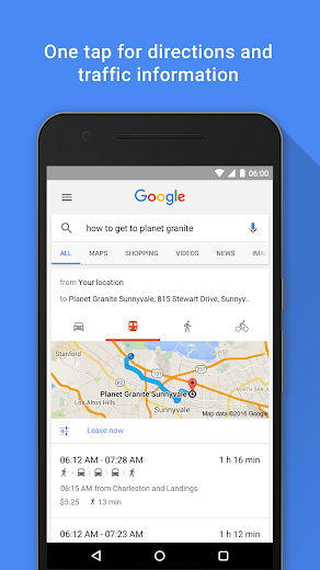 Screenshot 4 for Google's Android app'