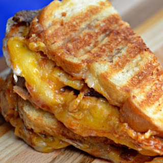 BBQ Bacon Chicken Grilled Cheese