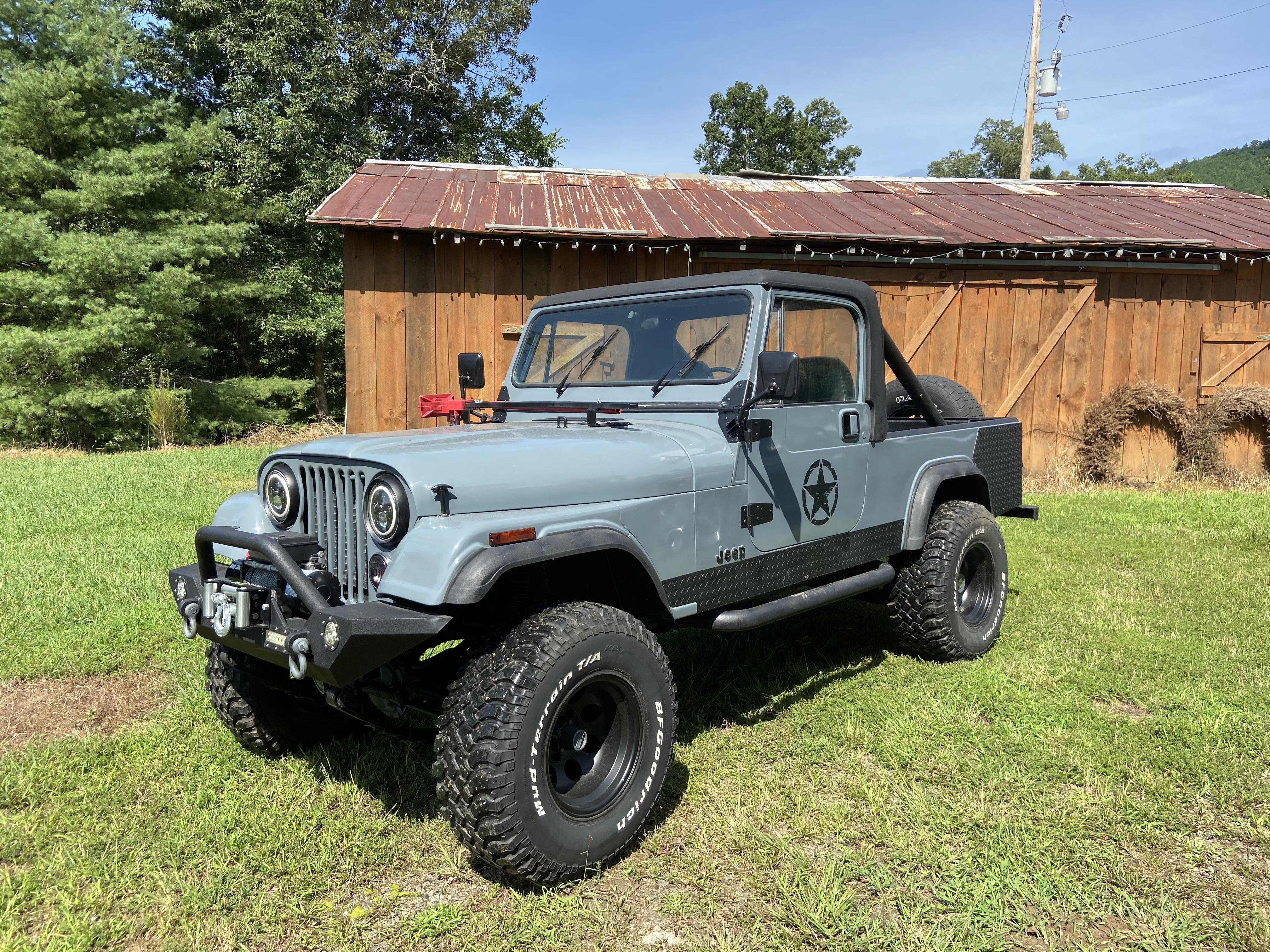 Jeep Cj7 Scrambler Hire Murphy