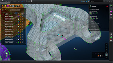 Photo: Regenerate meshes automatically with each use of direct modeling.