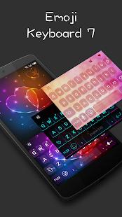 Emoji Keyboard 7 - náhled