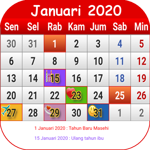 Indonesia Calendar Apps On Google Play