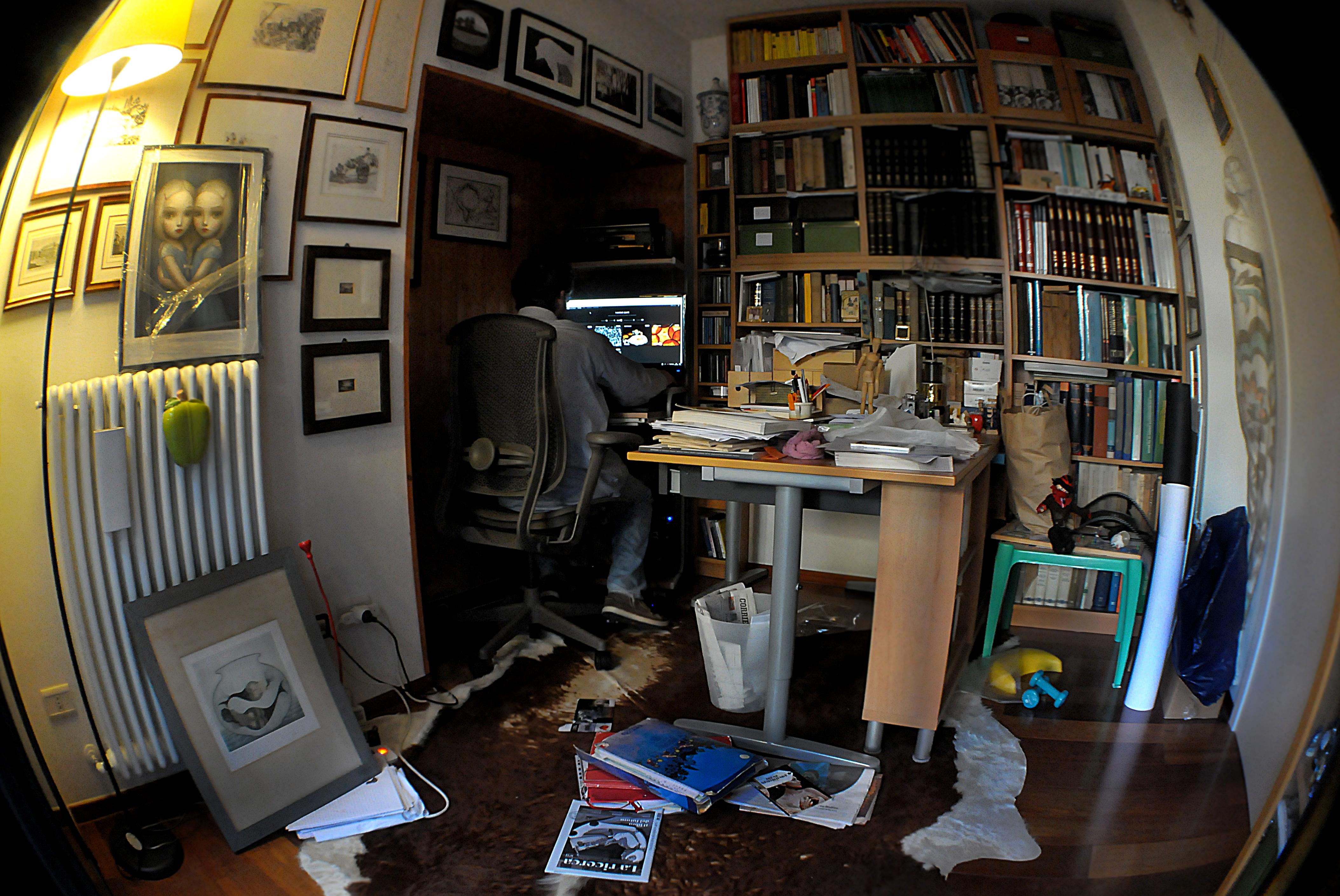 Il mio studio, il mio mondo di mousix