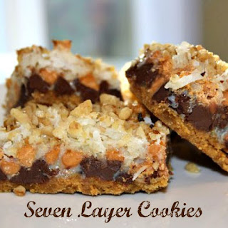Seven Layer Cookies.
