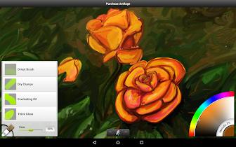 ArtRage Oil Painter Free - screenshot thumbnail 09