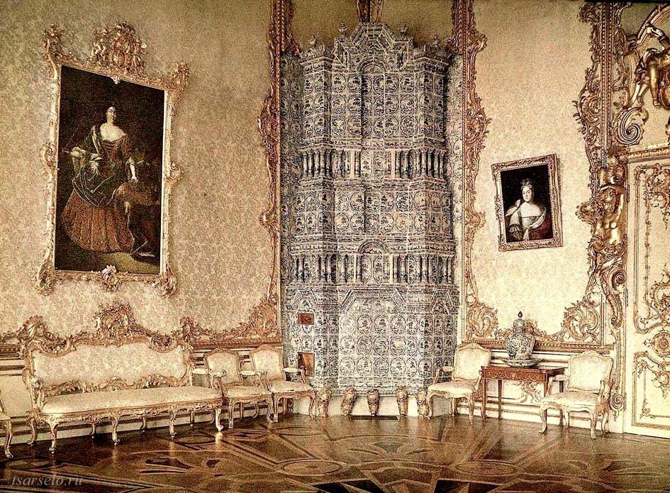 Царское Село Екатерининский дворец Портретный зал