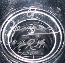 Photo: Dartington sharon, limited edition with Gertrudes Hermes RA work etched on the bowl. Fully signed