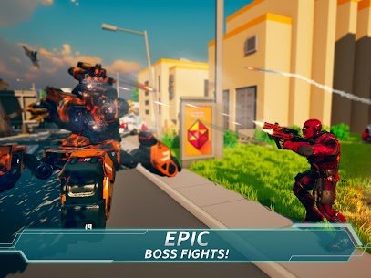 Iron Avenger – Infinite Warfare RPG Apk  Download For Android 8