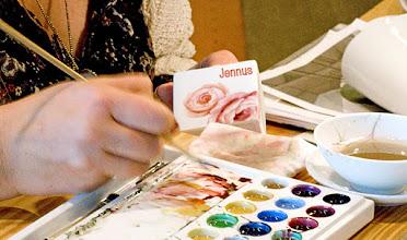 Photo: Farbpalette für Porzellan