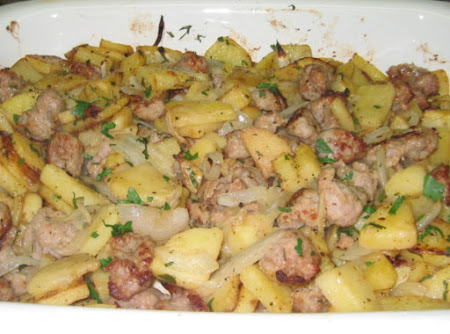 Italian Sausage and Potatoes Recipe