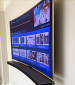 Floating Cable Free TV Installation
