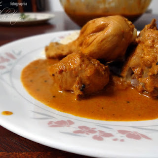 East Indian Bottle Masala Chicken Curry.