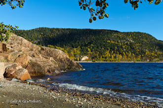 Photo: From a small beach called Ytre Fiskebukt