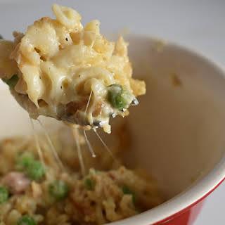 Creamy, Crunchy & Cheesy Tuna Noodle Casserole.