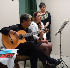 Photo: Lesung Angelika Ditha-Morosowa und Finissage Athina T./ Lior Hatzis am 13.5.2014. Foto: Peter Skorepa, Marios Anastasiou, Helen Dorros, Esther Hatzi.