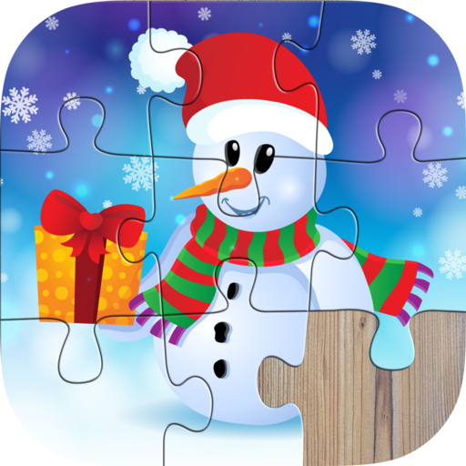 Santa Christmas Jigsaw Puzzles for kids & toddlers (game)