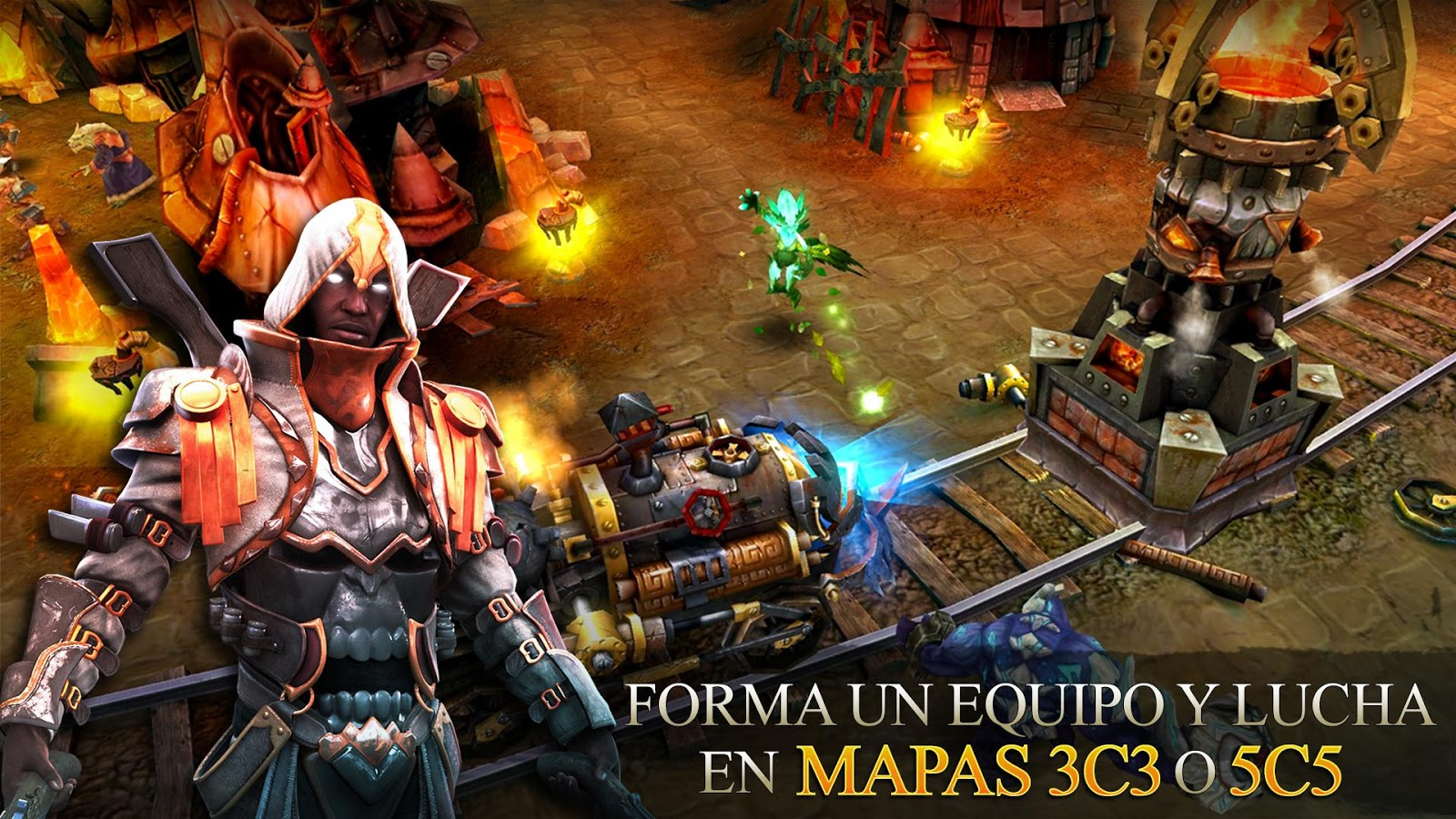 Heroes of Order & Chaos MOD APK