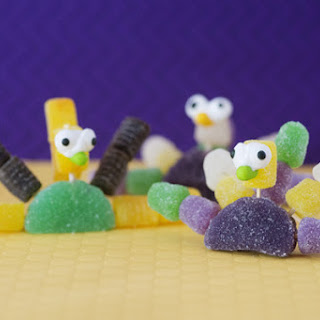 Gumdrop Candy Peacocks