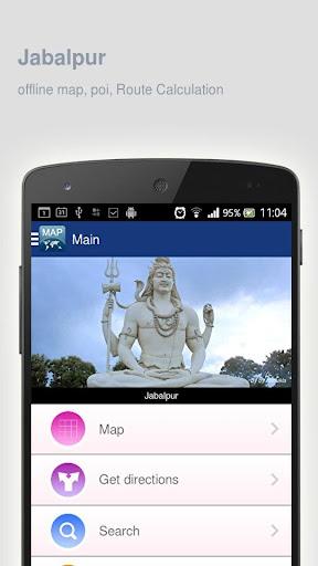 Jabalpur Map offline
