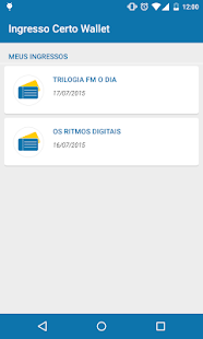 Ingresso Certo Wallet- screenshot thumbnail