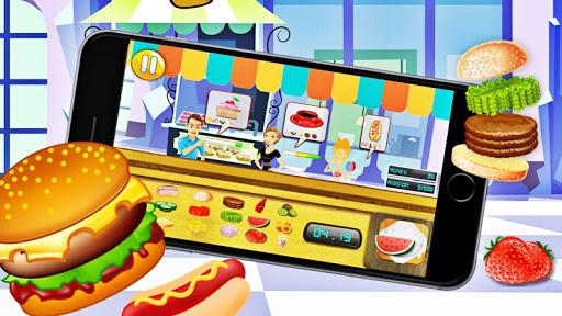 Cooking hamburgers Game