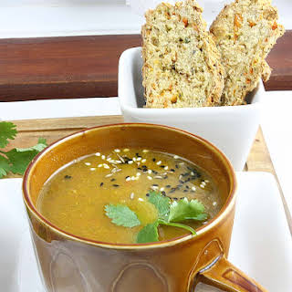 Carrot Coriander Soup in The Optimum ThermoCook.