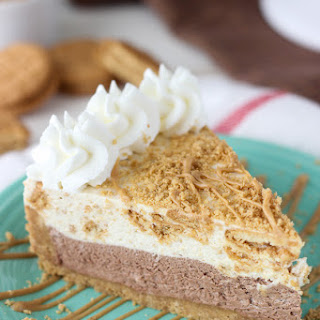 No-Bake Nutter Butter Mousse Pie