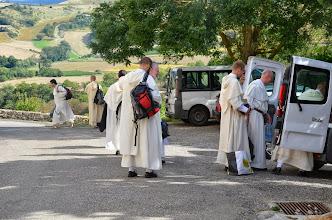Photo: Rychle naskládat věci do aut a vzhůru na Sainte-Baume, kde budou slavné sliby tří bratří.