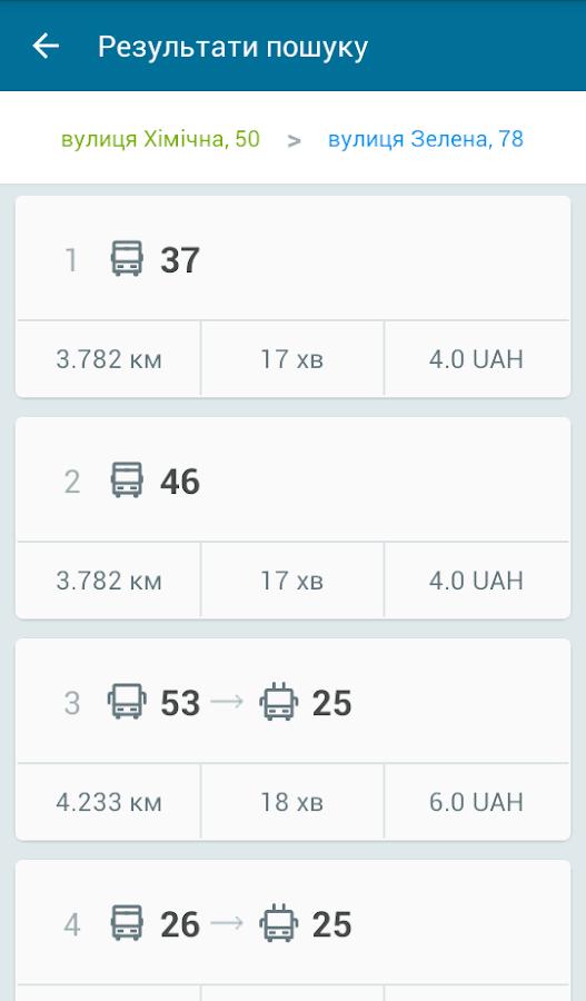 EasyWay общественный транспорт