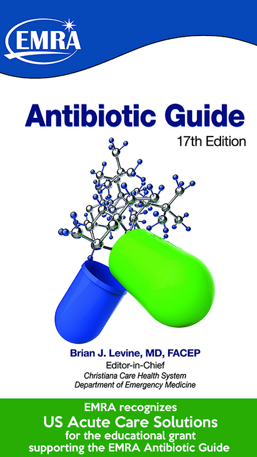 2017 EMRA Antibiotic Guide- screenshot