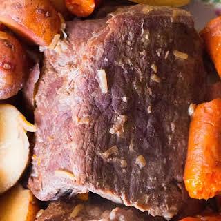The Best 4 Ingredient Pot Roast.