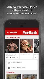 Mens Health Fitness Trainer - Workout & Training Screenshot