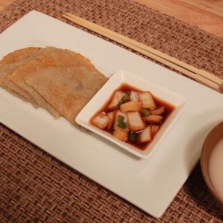 Korean Potato Pancake (감자전).