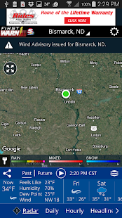 KFYR-TV First Warn Weather- screenshot thumbnail