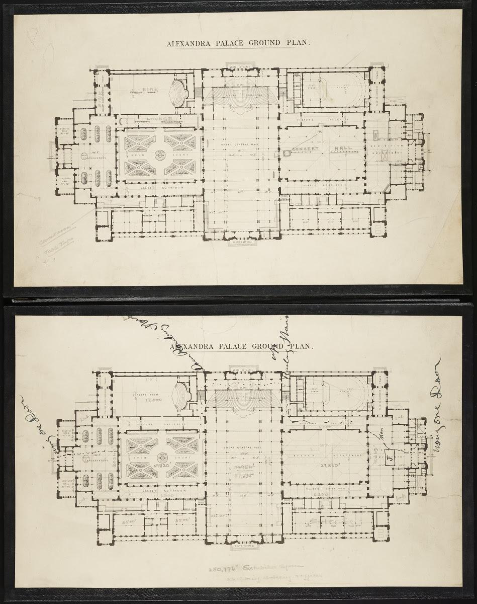 Alexandra Palace Ground Plan Google Arts Culture