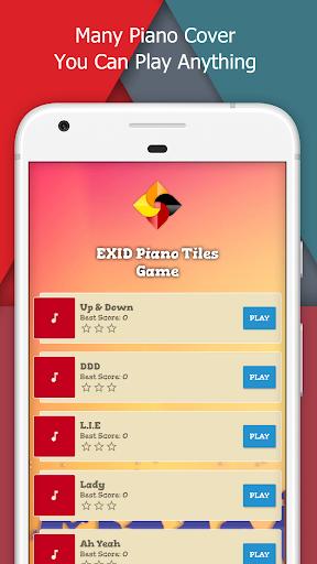 EXID Piano Tiles Game