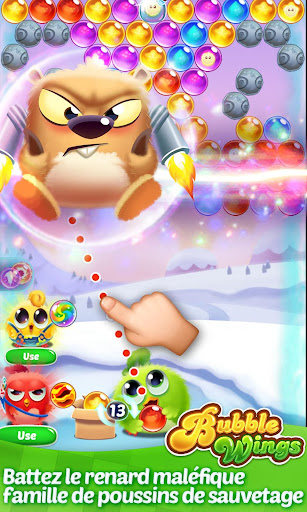 Bubble Wings: offline bubble shooter games  captures d'écran 2