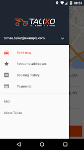 TALIXO - Taxi & Limo Booking screenshot 1