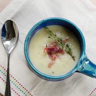 Winter White Cauliflower and Potato Soup