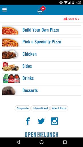 Domino's Pizza 3.5.0 Screenshots 1