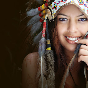Apache by Tom Malique - People Portraits of Women ( tomalique studio )