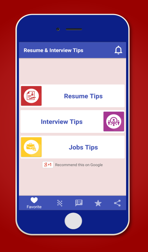resume interview tips jobs android apps on google play