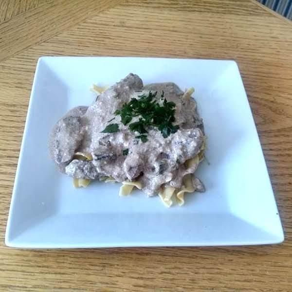 Creamy Mushroom Venison Steak Recipe