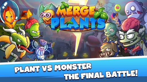 Merge Plants: Zombie Defense apkmr screenshots 1