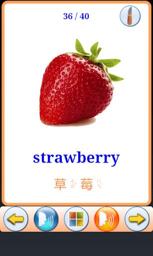 水果單字圖卡 V2