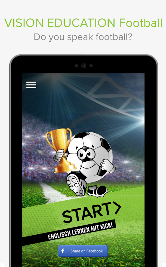 VISION EDUCATION Football- screenshot